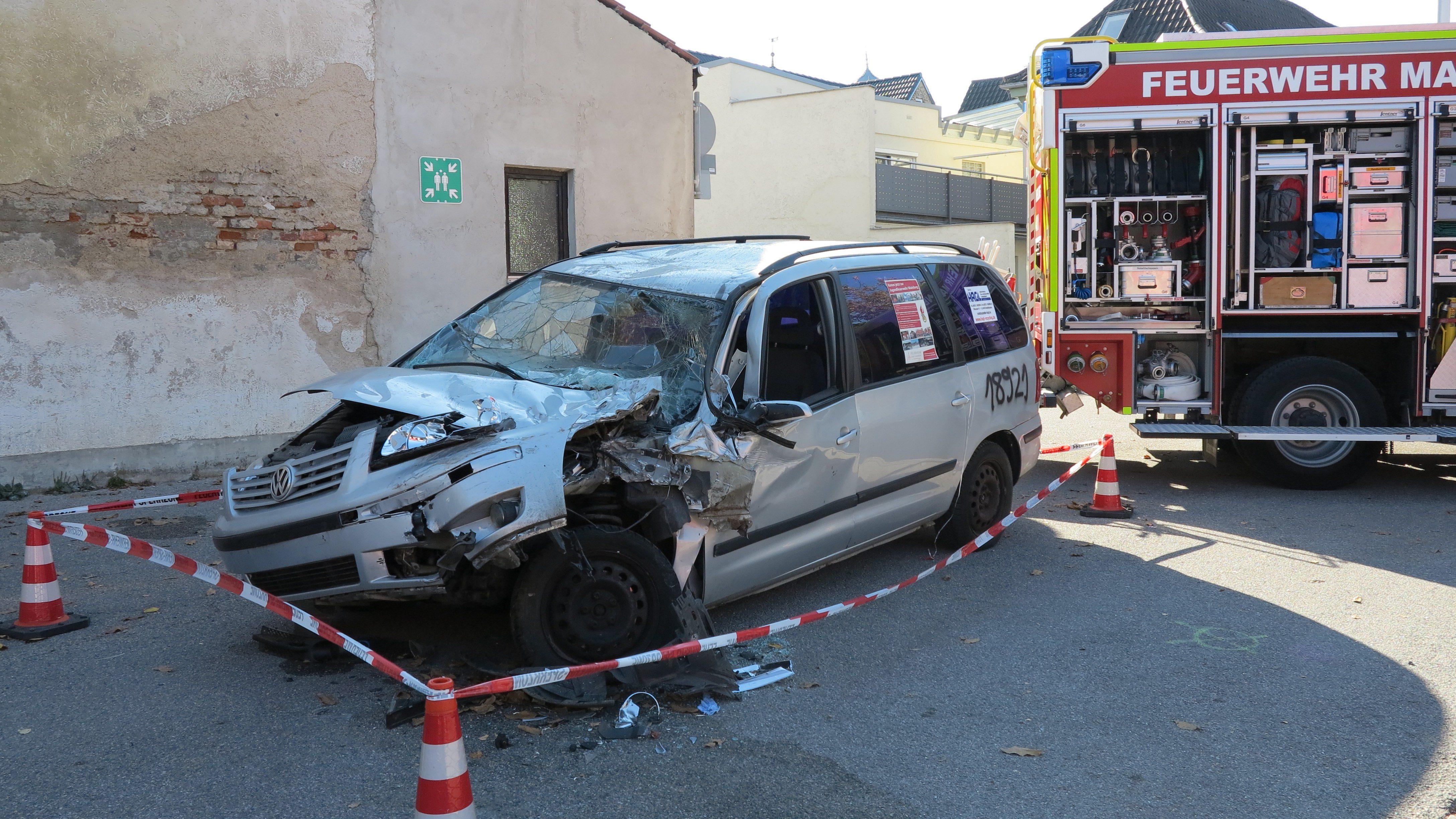Vorstellung eines Einsatzablaufs beim Verkehrsunfall.